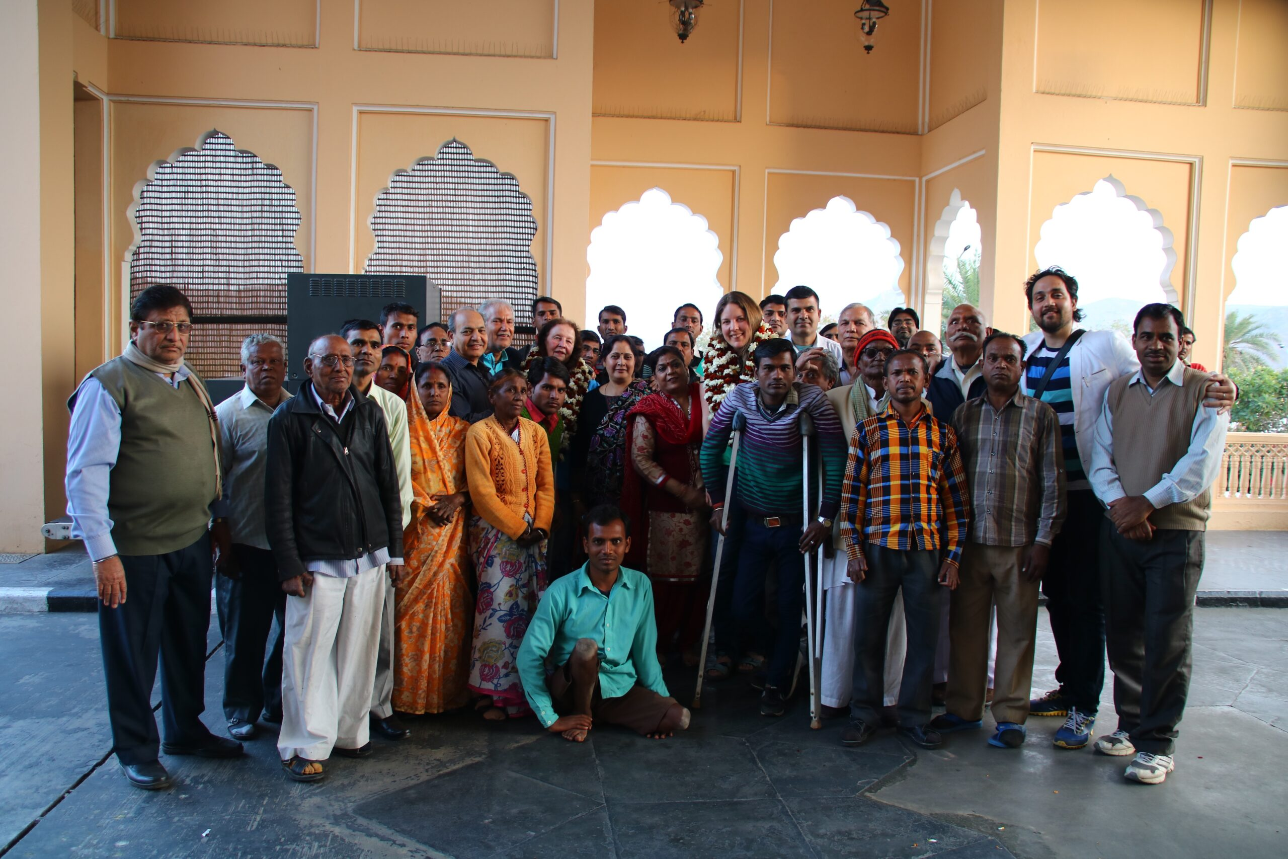 Das SMK-Team in Jaipur